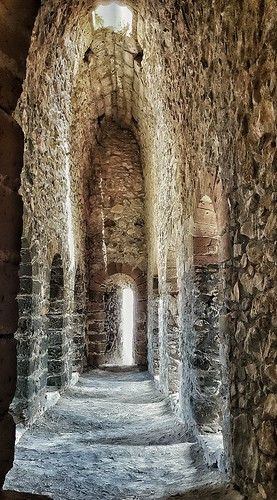 Inside of Kantaras castle.