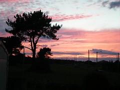 Anochecer Desde el Camping (brujulea) Tags: brujulea campings ribadeo lugo camping anochecer desde