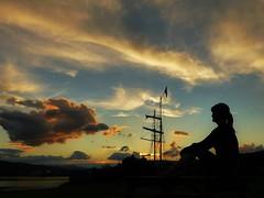 Selfie Sunday..x (lisa@lethen) Tags: cirrus sunset cloud sky mast selfie scotland corpach