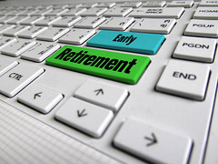 Early Retirement Keyboard Button (investmentzen) Tags: retirement 401k ira account plan tax taxes fire financial independence finance finances invest investment investing investor money keyboard button office business early earlyretirement retiree