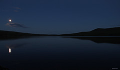 Nachtsee (svensonkra26) Tags: see nachtbild vollmond schweden dalarna ruhe
