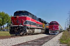 Mighty Good Road (Trainboy03) Tags: iowa interstate iais 513 northern ianr 678 hawkeye express coralville ia