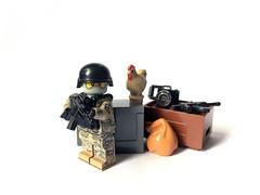 South Korean operator (Rage_Rex) Tags: lego operator mru