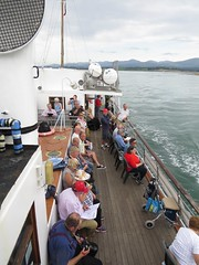 3942 The port side of boat (Andy panomaniacanonymous) Tags: 20160907 cruise ddd deck mvbalmoral passengers portside ppp roundtrip ship sss ynysmon