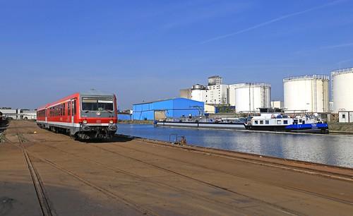 Mülheim an der Rurh, Südhafen, DB 628 442 (Baureihe 628)