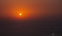 Sunset over the World (Like The Ocean) Tags: architecture artificial balloffire dubai islands manmade sunset twilight