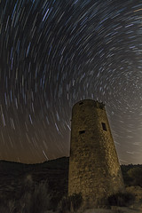 Circumpolar (www.justigarcia.com) Tags: circumpolar torre faro nocturna largaexposicin estrellas estrellapolar