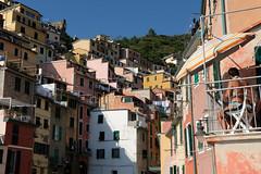 Terrasses (Pierrodysse) Tags: italie italy italia cinqueterre sea mer mditerrane mediterranean riomaggiore fujifilm xpro2 fujixpro2