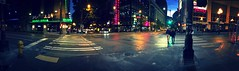 Intersection of Pike and 7th downtown (Seattle Department of Transportation) Tags: seattle sdot transportation downtown night pike 7th intersection panorama pedestrians