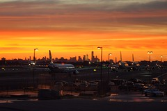 fight back... (markusOulehla) Tags: skyline airport sunset nyc newyorkcity markusoulehla nikond90 citytrip thebigapple usa manhattan