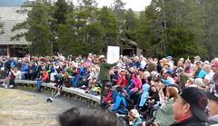 Ranger Explains Geysers - Sep 16, 2016 (Jeffxx) Tags: yellowstone park 2016 september ranger talk old faithful geyser people