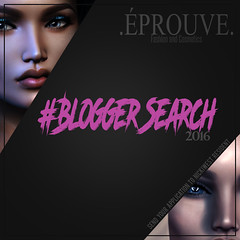 .PROUVE. Blogger Search (NickiWest_Resident) Tags: second catwa make head static applier system cosmetics mesh eyes fiore life blogger search wanted stylist blog wordpress blogspot