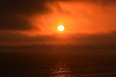 Sunset Over Santa Cruz 5 (227/366) (C.M. Keiner) Tags: santa cruz california pacific ocean sunset clouds fog summer beach coast