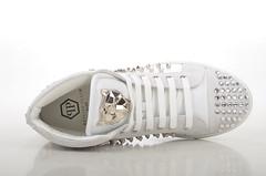 Philipp Plein Shout High-Top Sneaker Kalbsleder wei (white) (3) (spera.de) Tags: philipp plein shout hightop sneaker kalbsleder weis white philippplein damensneakers