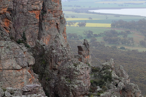 Mount Arapiles Highlines by blachswan, on Flickr