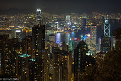 Celebrations of light and colors... (EHA73) Tags: aposummicronm1250asph leica leicam typ240 hongkong nightphotography cityscape colors lights night victoriapeak victoriaharbor buildings towers skyscrapers mountains