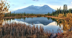 Vermillion Lakes, Banff Nattional Park, Alberta, Canada - ICE(5)952-956 (photos by Bob V) Tags: panorama mountainpanorama mountains rockies rockymountains canadianrockies vermillionlake vermillionlakes banff banffpark banffnationalpark banffalberta banffalbertacanada reflection reflectiononwater