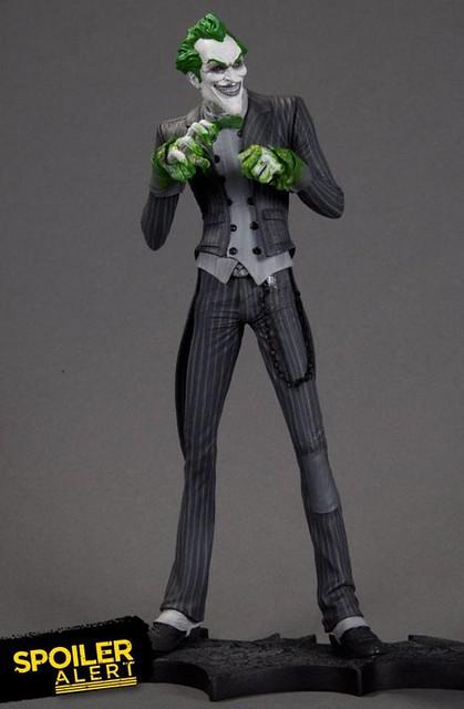 DC Collectibles - 蝙蝠俠:阿卡漢城市 小丑雕像