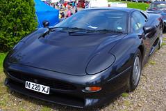 Jaguar XJ 220 (Dave Hamster) Tags: car racing historic silverstone jaguar motorracing motorsport 2012 racingcar 220 autosport xj jaguarxj220 silverstoneclassic m220xj