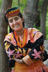 Smile (Iqbal Khatri) Tags: portrait girl dress valley tradition tribe khyber kalash kafir iqbal kalasha chitral khatri kafiristan kalashvalley pakhtoon bamborat bamboret bamburat khuwan