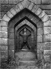 51/52 Door door door (Mister Oy) Tags: door blackandwhite bw selfportrait monochrome architecture landscape mono arches rivington doorway weekly 52 davegreen liverpoolcastle nikond700 oyphotos