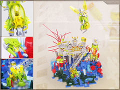 Resource Extraction Station 15T (Brickthing) Tags: robot factory lego space hero scifi mole bionicle moc drone arso mineco arsoairport