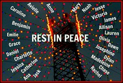 Just a little something I put together to remember the 26 names we need to remember...May their families find some comfort in knowing how much others care. (heackersgirl) Tags: school children dead heaven babies sad massacre connecticut innocent terrible kindergarten shattered murdered youngsters horrific overwhelming