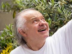The Faces of Portico Di Romango, Italy (Kathy~) Tags: people italy man happy person emotion fc herowinner porticodiromango