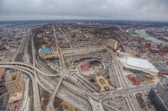 A view of the CONSOL Energy Center and Civic Arena from the roof of the Steel Building in HDR (Dave DiCello) Tags: beautiful skyline photoshop nikon pittsburgh tripod usxtower christmastree mtwashington northshore northside bluehour nikkor hdr highdynamicrange pncpark thepoint pittsburghpirates cs4 ftpittbridge steelcity photomatix beautifulcities yinzer cityofbridges tonemapped theburgh clementebridge smithfieldstbridge pittsburgher colorefex cs5 ussteelbuilding beautifulskyline d700 thecityofbridges pittsburghphotography davedicello pittsburghcityofbridges steelscapes beautifulcitiesatnight hdrexposed picturesofpittsburgh cityofbridgesphotography