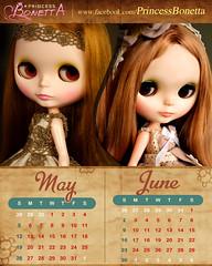 Calendar May-Jun