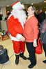 Brendan O'Carroll & Santa at the annual Our Lady's Hospital for Sick Children Christmas Ward Walk, Dublin