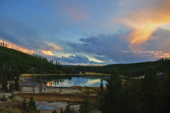 DSC_5416 (norm erikson) Tags: sunset lakes yellowstone 2011