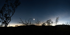 Eclipse Scenery in Profile (MrBlackSun - Busy for sometime) Tags: eclipse australia maitland mulliganhighway mygearandme maitlanddowns australia2012 eclipse2012 tse2012 totalsolareclipse2012