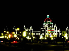 Magical night view of the Parliament Buildings in Victoria, BC, Canada (peggyhr) Tags: friends red white canada black green bc victoria innerharbour parliamentbuildings nightlighting thegalaxy 25faves peggyhr myfriendspictures royalawards 100commentgroup flickraward visionaryartsgallery postthebest zodiacawards mygearandme mygearandmepremium royalgrup level1photographyforrecreation photohobbylevel1 redgroupno1 thelooklevel1red thelooklevel2yellow homeforthebcprovinciallegislativeassembly img1253ab