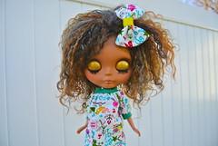 guen (cybermelli) Tags: sky doll heather tan bow mohair loves blythe rbl louos happibug