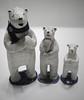 Polar bear (danahaneunjeong) Tags: bear ceramic doll polarbear polar icebear 곰 북극 북극곰