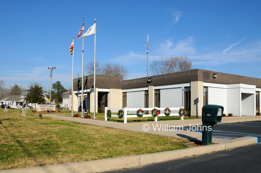City Of Fruitland Md Town Hall