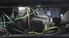 MVI_3386 (rat_fink) Tags: fix vent volvo vacuum working rubber dash wires repair 200 amplifier 240 actuator 245 6115 poweramplifier glovebox defroster wirring 2x15w ha6115