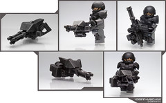 The Trinity Machine ([N]atsty) Tags: black mod gun lego minifig matte minigun minifigure blackops deathmachine brickarms brickwarrior brickwarriors