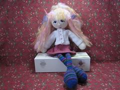 A&CDollTwo2 (toureasy47201) Tags: doll handmade knit yarn knitteddolls arnecarlos