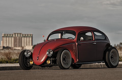 vw1 (JermyCorp Media) Tags: volkswage vw beetle bug custom chopped stretched choptop low 1972 72 voodoo tiki nikon d300 photoshop adobe cs6 rollingshot wideangle sigma 1020 70200 f28