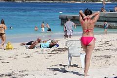 Sunbather_3309 (Stephen Wilcox - Jetwashphotos.com) Tags: sea woman men beach female sand legs longhair tan babe bum bikini brunette bahamas nassau sunbathers paradiseisland junkanoobeach