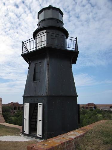Garden Key (Fort Jefferson) Lighthouse, Dry Tortugas