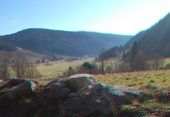 Menzenschwander  Tal 3D (Menzenschwander Valley 3D) (Fotoelfe) Tags: mountain nature germany landscape deutschland stereoscopic 3d stones natur anaglyph steine stereo valley schwarzwald blackforest tal gebirge badenwürttemberg nikond40 menzenschwand