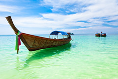 Thai boat (lunarlynx) Tags: travel blue sea summer vacation sky sun sunlight travelling tourism beach water colors beautiful clouds relax landscape thailand boats island boat amazing sand holidays asia warm bright colorfull traditional relaxing culture sunny journey thai beaches seashore emerald lipe seaview andaman andamansea southwestasia kohlipe