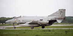 McDonnell-Douglas Phantom FG1 (Angle-of-Attack) Tags: netherlands airplane force 1987 aircraft aviation military air jet royal phantom douglas ae raf 43 mcdonnell volkel sqn fightingcocks 3235 9335 fg1 f4k xv581