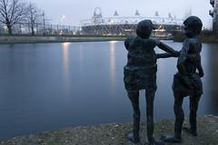 Onlookers (- Ed Hollis -) Tags: london canal lee lea hackney navigation