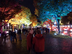 Festival of Light, Berlin (sfwanderer2) Tags: berlin germany hp unterdenlinden festivaloflight yourberlintourguidecom