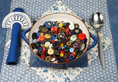 Button Stew (Batikart) Tags: winter inspiration macro art colors closeup canon germany festive table geotagged fun creativity deutschland soup stew colorful europa europe pattern colours order quilt bright silverware artistic buttons vibrant napkin joy humor january tranquility plate spoon romance celebration indoors fantasy cover dreams surprise button imagination choice concept conceptual patchwork multicolored crocheted ursula ideas placesetting contrasts enjoyment variation cutlery teller flatware elegance sander g11 fellbach napkinring badenwrttemberg swabian eintopf knopf 100faves 2013 viewonblack batikart welllaidtable canonpowershotg11 tablereadylaid