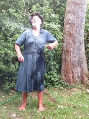 Blue denim getting wet two (Jack Williams) Tags: new men wet fashion fun freestyle frolic dress dresses skirts meninskirts wetlook skirted meninfrocks frocks frolics menindresses mandress malefashion wetguy skirtlook